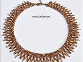 Emily SuperDuo Beadwork Necklace