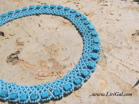 Cube Beaded Necklace(basic)